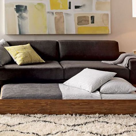 the best sleeper sofas according to interior design experts futon rh pinterest com