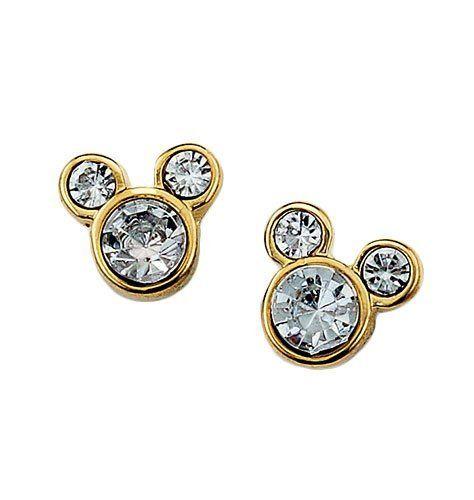 Disney Mickey Mouse Stud Earrings