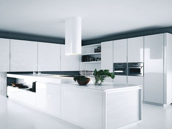 Pin di georgia koutrouza su decor nel 2019 modern kitchen furniture kitchen design e kitchen - Foto cucine moderne bianche ...