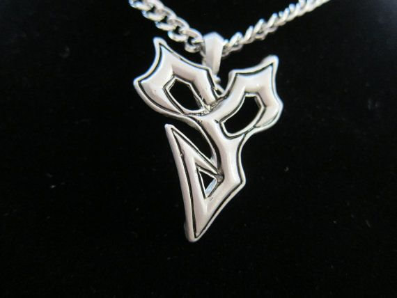 Silver Colored Final Fantasy Tidus Wind Symbol Necklace Is Inspired