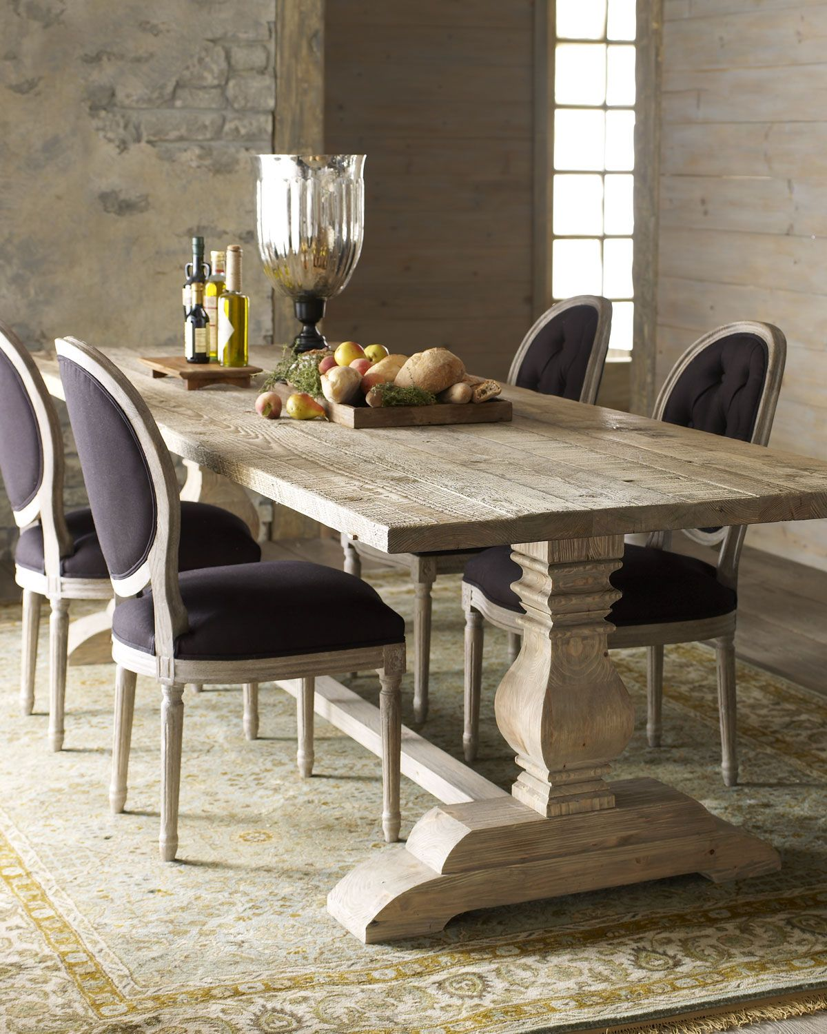 Natural Dining Table Black Linen Chairs Dining Table Black