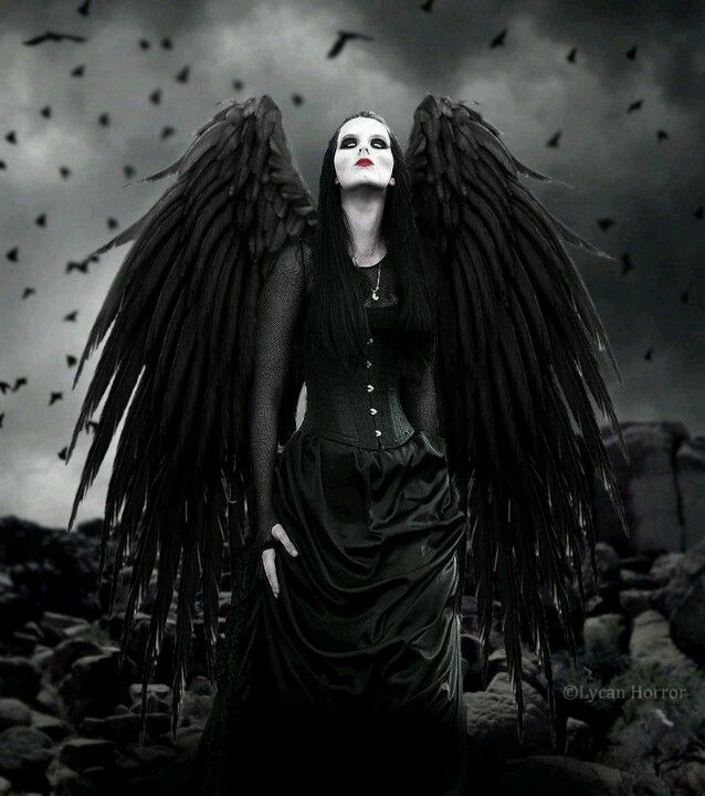 Pin by enya tapia on halloween costumes gothic art angel dark beauty - Gothic fallen angel pictures ...