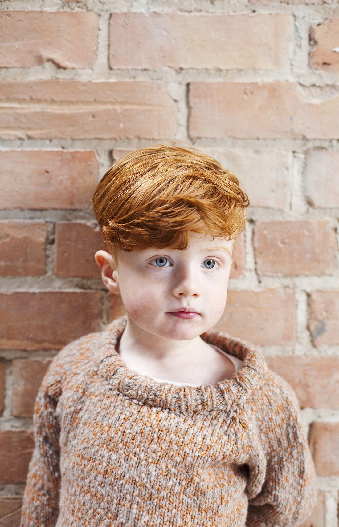 Les tricots loose de Babaà Style de garçons, Tricot