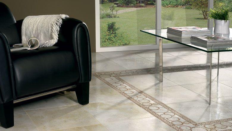 Nuevos dise os para la decoraci n de suelos interiores con - Pavimentos ceramicos interiores ...