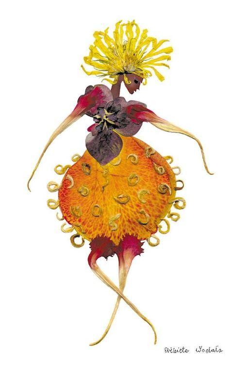 Elegantes Figuras Disenadas Con Plantas Secas Paredro Com Arte De Hoja Arte Con Flores Prensadas Pinturas Florales