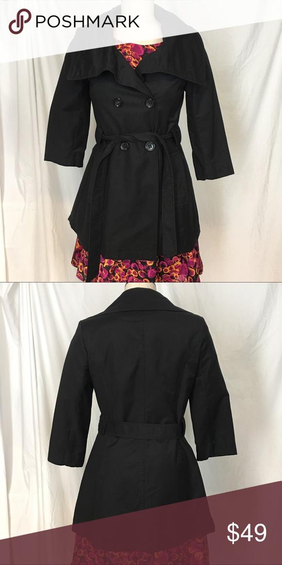 Donna Karan New York Black coat size Extra Small   Coats, York and ...