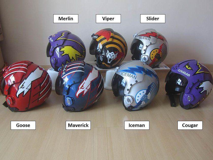 Top Gun Helmets Top Gun