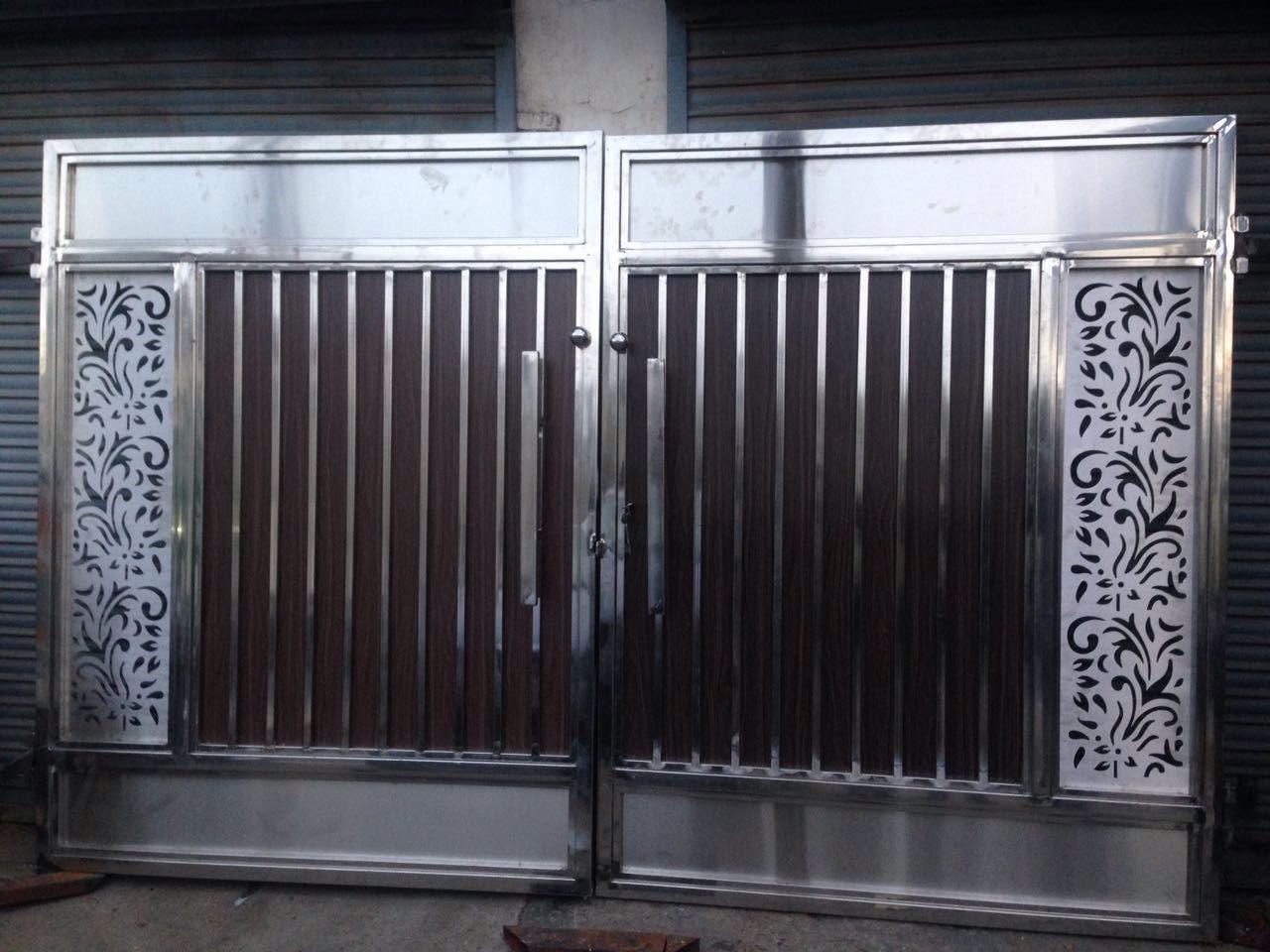 Pin By Sl Advance Technology Ltd On Gate Steel Door Design