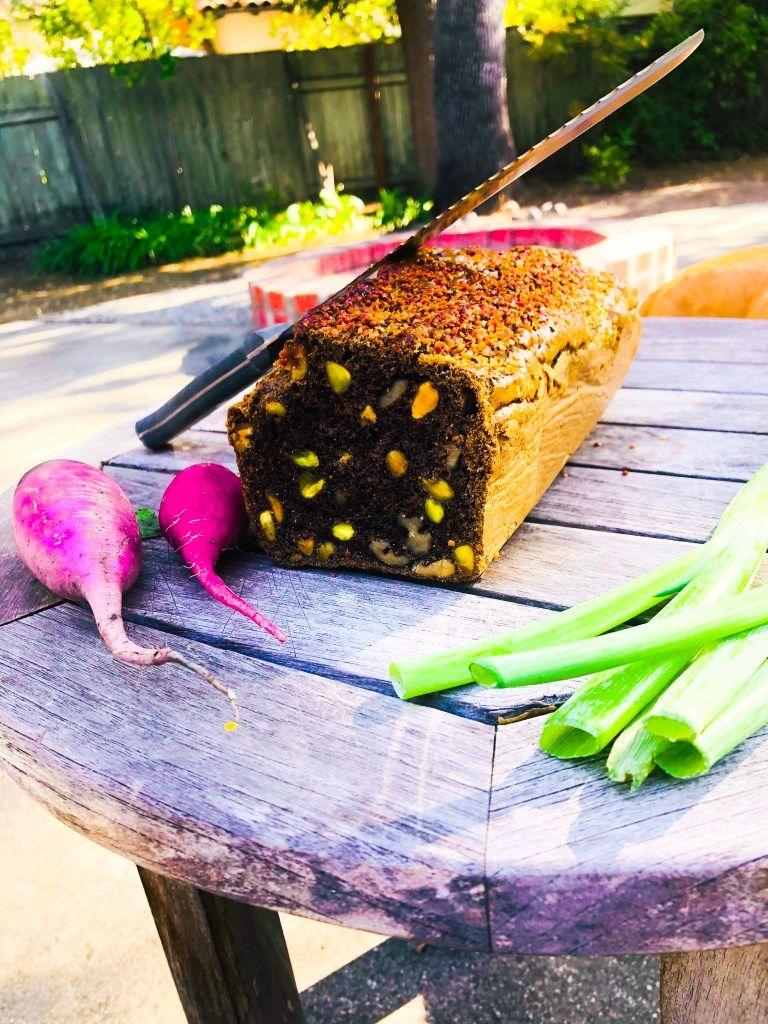 Nut BreadPaleo, Gluten Free, Grain free Nut bread