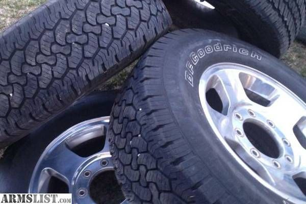"""Ford F-250 Rims 17"""" Tires E Rated. For Sale or Trade ..."""