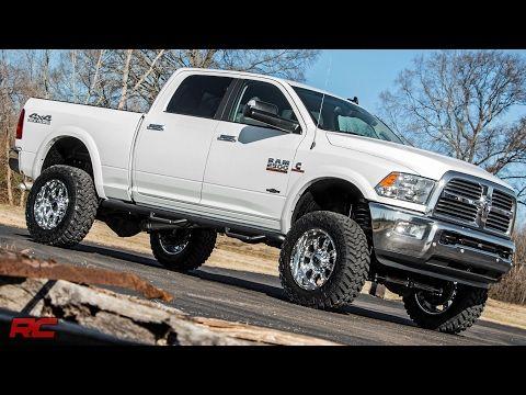 2014 2016 Ram 2500 5 Inch Suspension Lift Kit By Rough Country Youtube Dodge Diesel Ram Cummins Dodge Ram 2500 Diesel