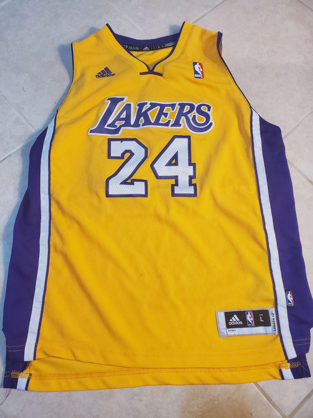 Adidas NBA jersey youth Kobe Bryant on Mercari | Adidas nba jersey ...