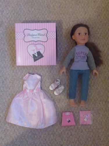 design a friend little sister holly and brand new bridesmade set