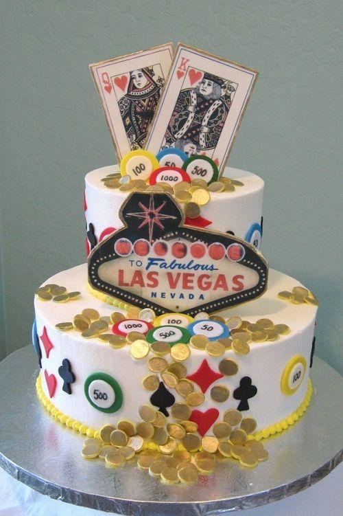Playing Card Wedding Cake Ideas Topper Las Vegas Wallpaper