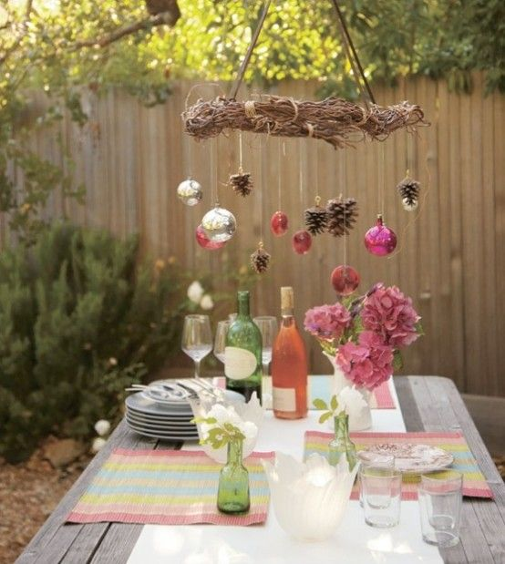 Outdoor Christmas Party Ideas Part - 20: Most Beautiful Outdoor Christmas Table Setting IdeasCelebrating The  Christmas Outdoors Would Be A Real Pleasure,
