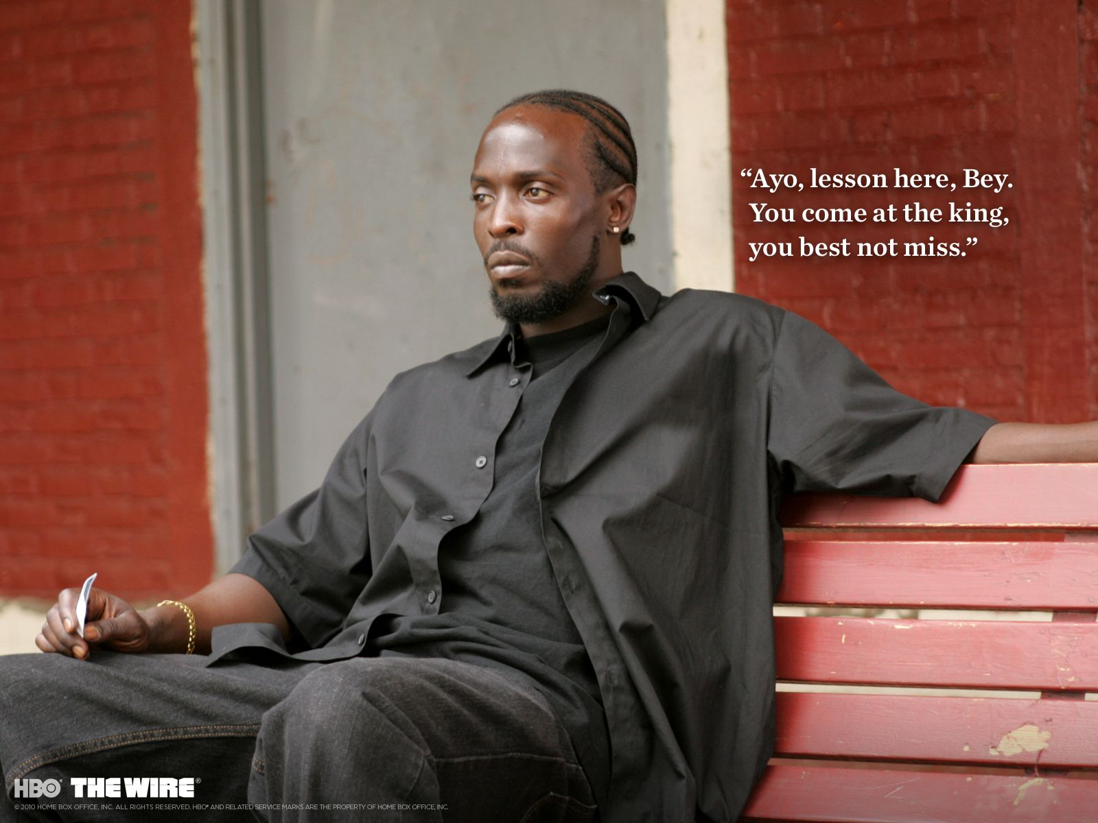 The Wire Omar Quotes