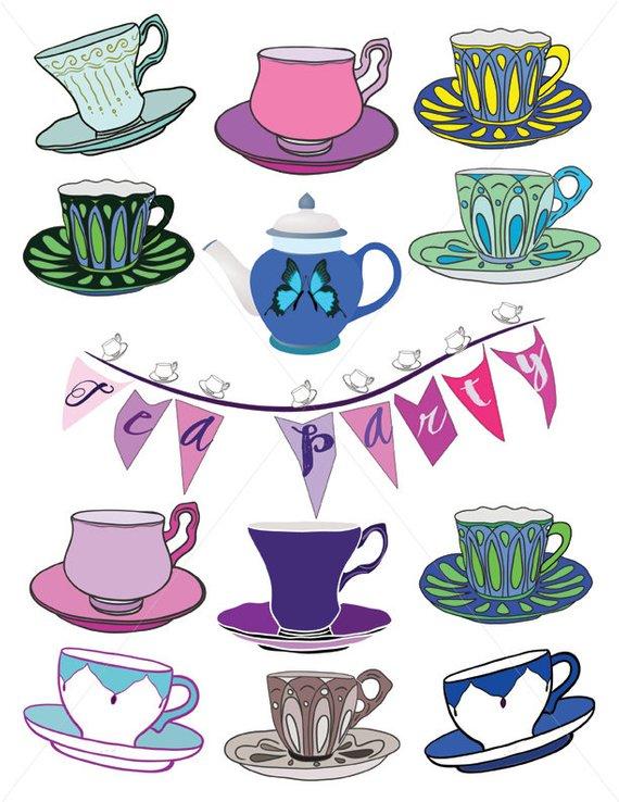 12++ Teacup clipart free ideas
