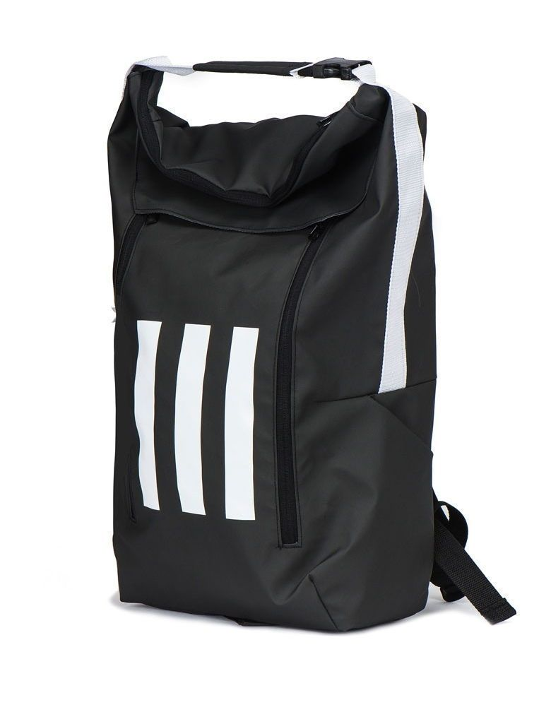 fec043308d0e Adidas Athletic ID Backpack Sports Bag Football Soccer Gym Golf BR1576 Ball  N o