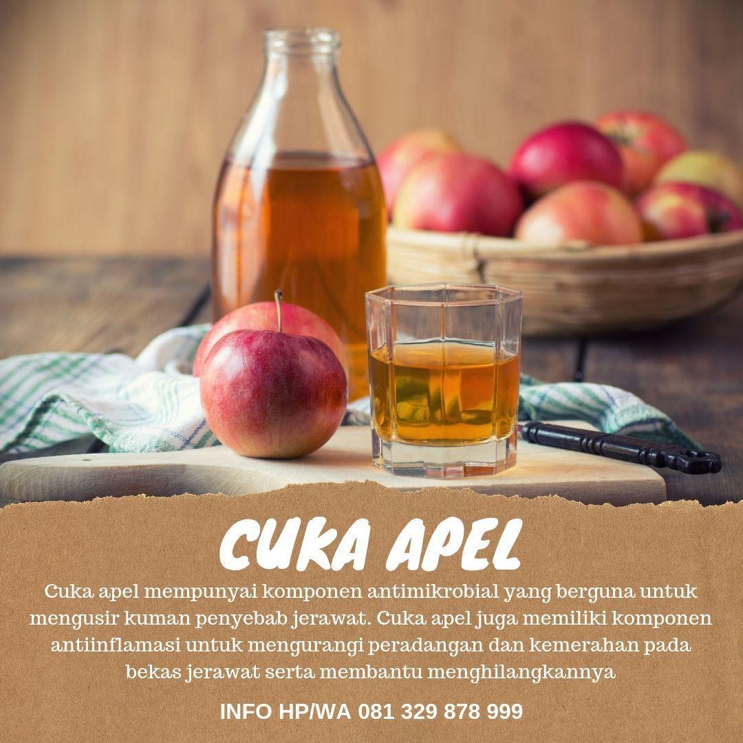 Cuka Apel Untuk Wajah Berjerawat Dan Berminyak