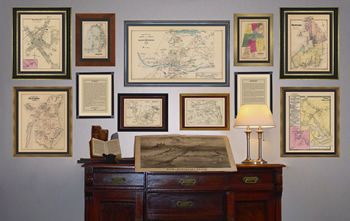 More Maps Framed Maps Gallery Wall Layout Gallery Wall