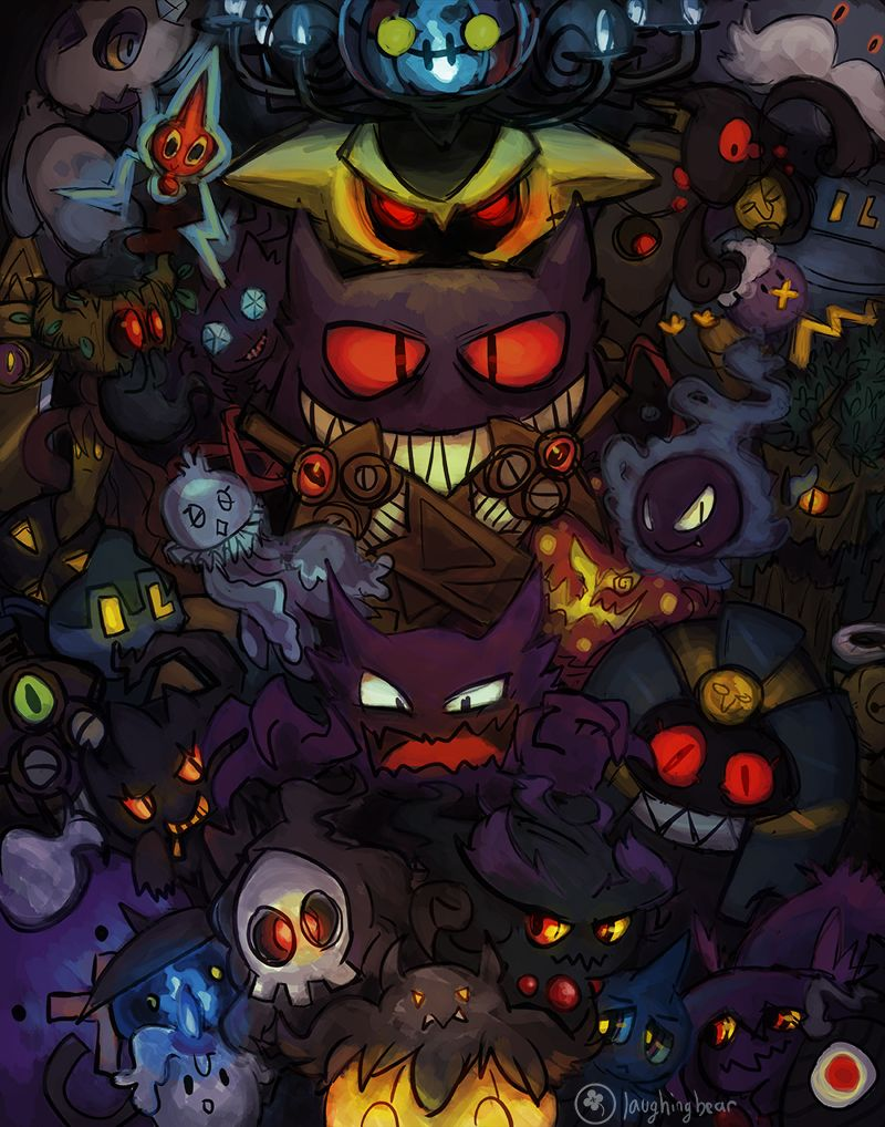 Banette Hd Wallpapers Backgrounds Wallpaper 1920 1200 Ghost Pokemon Wallpaper 30 Wallpapers Adorable Wall Ghost Pokemon Ghost Type Pokemon Dark Pokemon