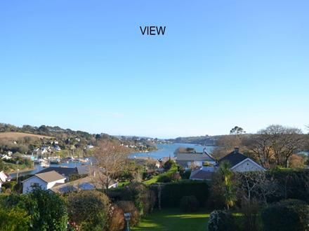A four bed detached property with fantastic views of Restronguet Creek, in Point