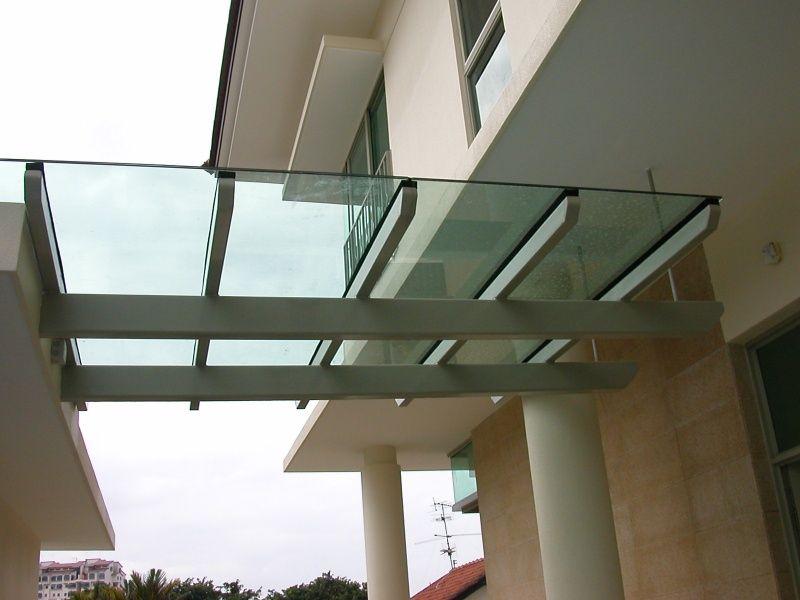 Marquesinas de vidrio vidrieria y aluminio en tlajomulco - Marquesinas para terrazas ...
