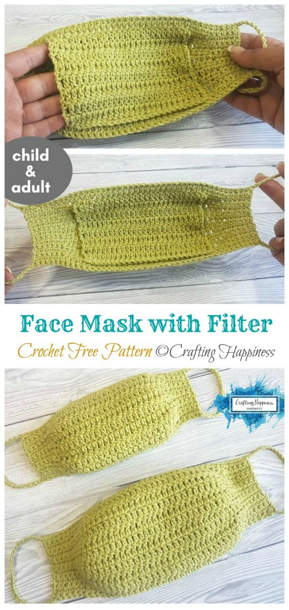 Photo of 10 Face Mask Crochet Free Patterns • DIY How To
