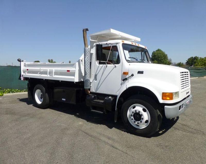 1997 #International 4900 dump #truck $23,500