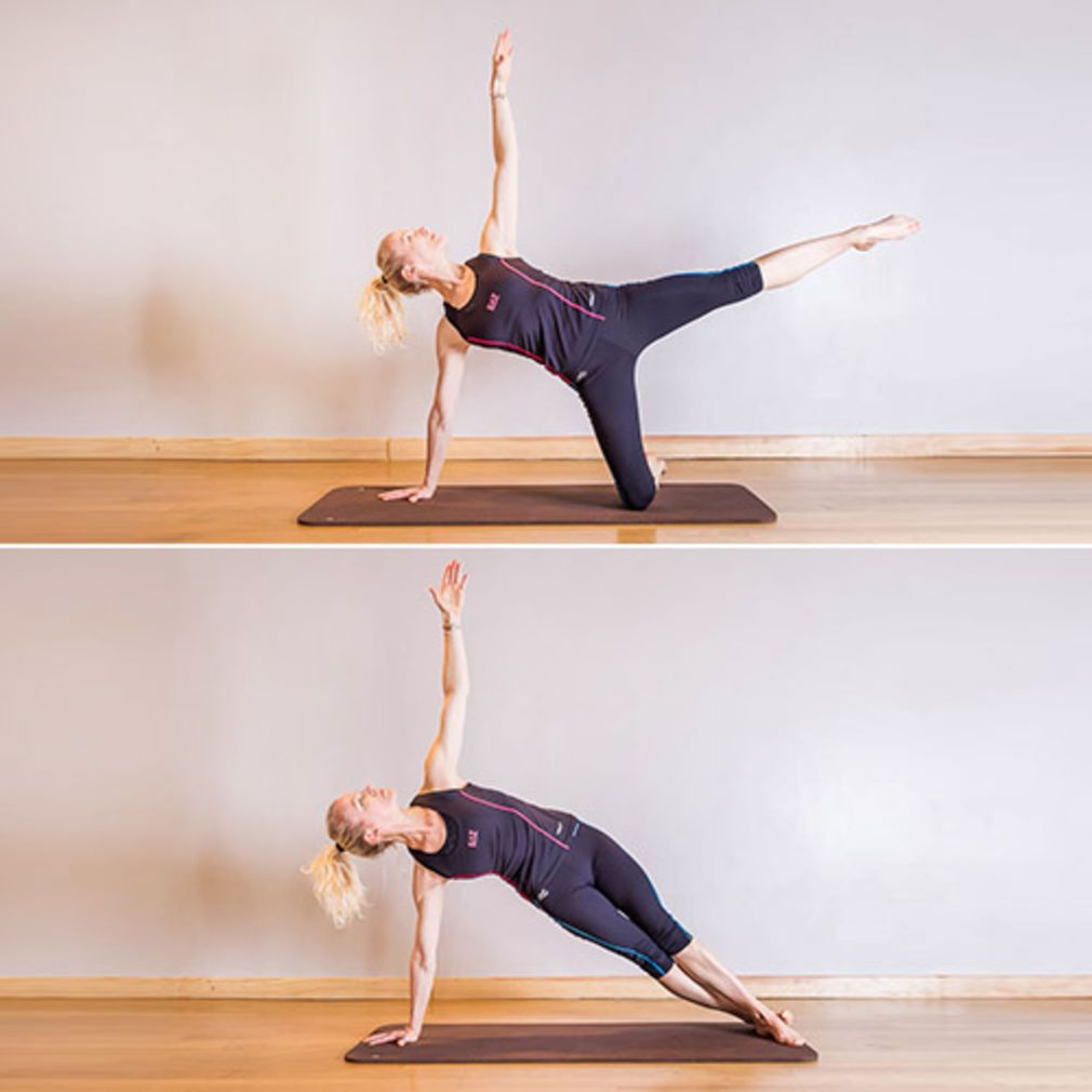 Pilates :Elévation de la jambe   Pilate exercices, Pilates