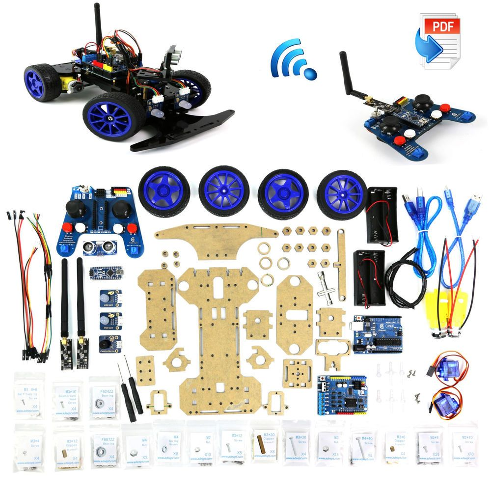 Adeept Robotics Model Arduino Smart Car kit Electronics