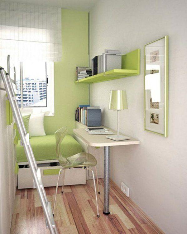 24 id es pour la d coration chambre ado deco chambre for Decoration interieur petit espace