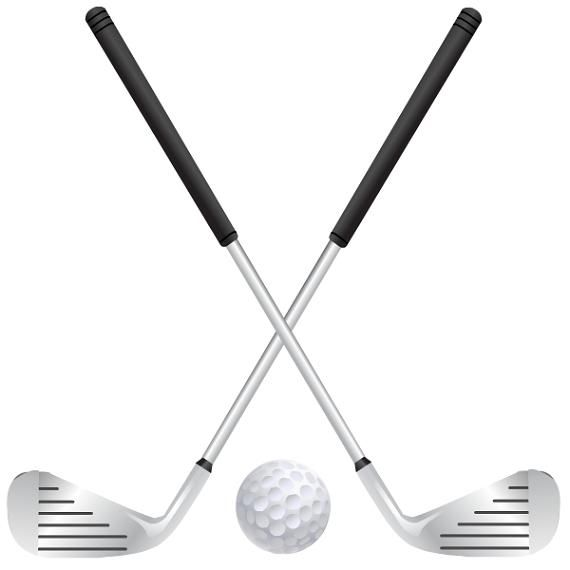 Free Golf Clipart | Images carte, Golfeur, Golf