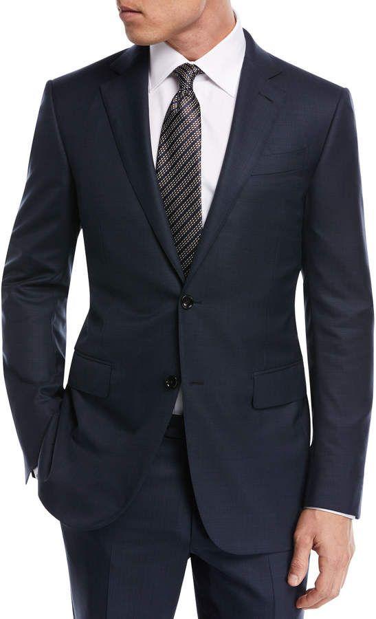 c1b4d82c Ermenegildo Zegna Tonal Plaid Wool Two-Piece Suit in 2019   Products ...