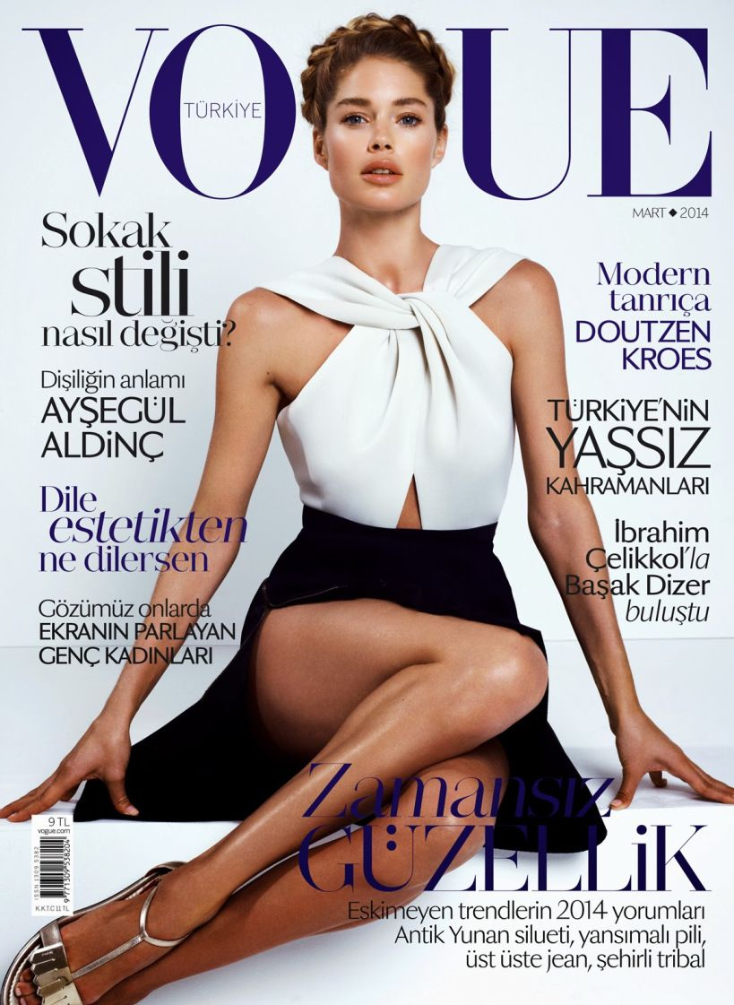Doutzen Kroes by Cuneyt Akeroglu for Vogue Turkey March 2014