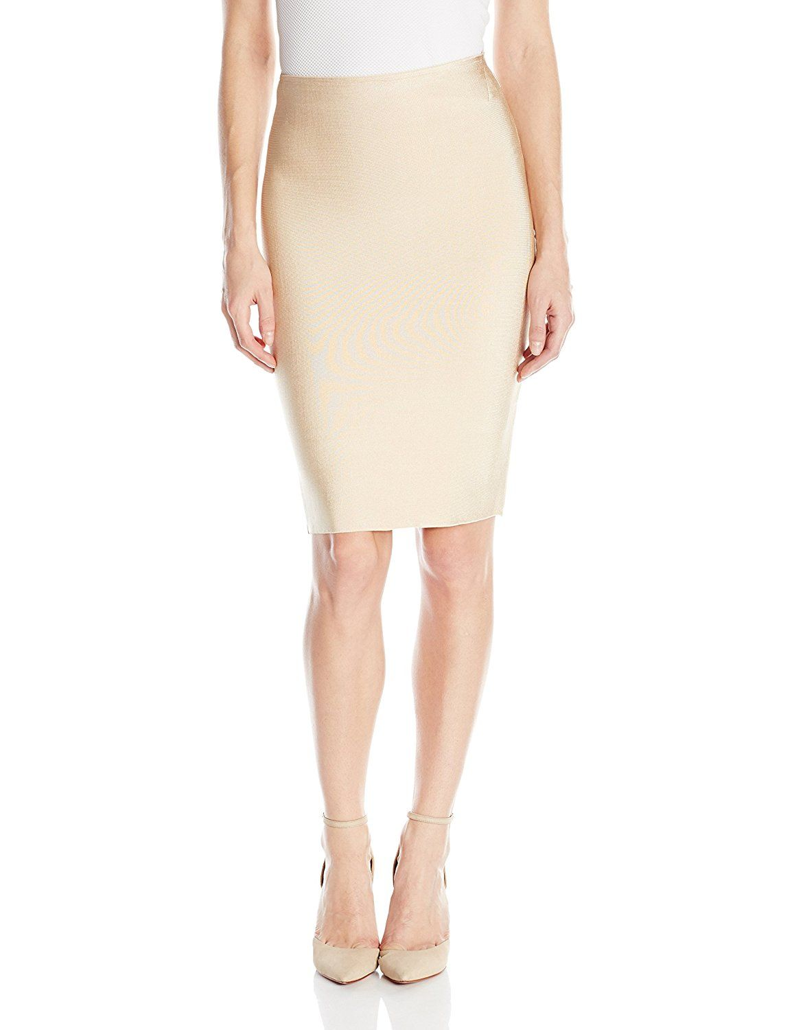 Wow Couture Women's Luxe Pencil Skirt *** This is an Amazon Affiliate link. For more information, visit image link.