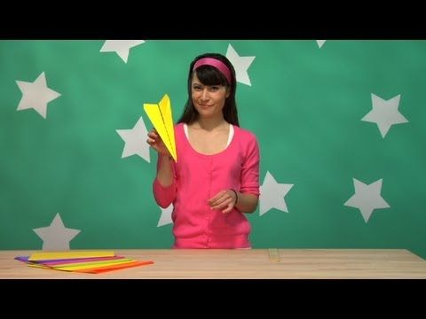 john collins paper airplane folding instructions