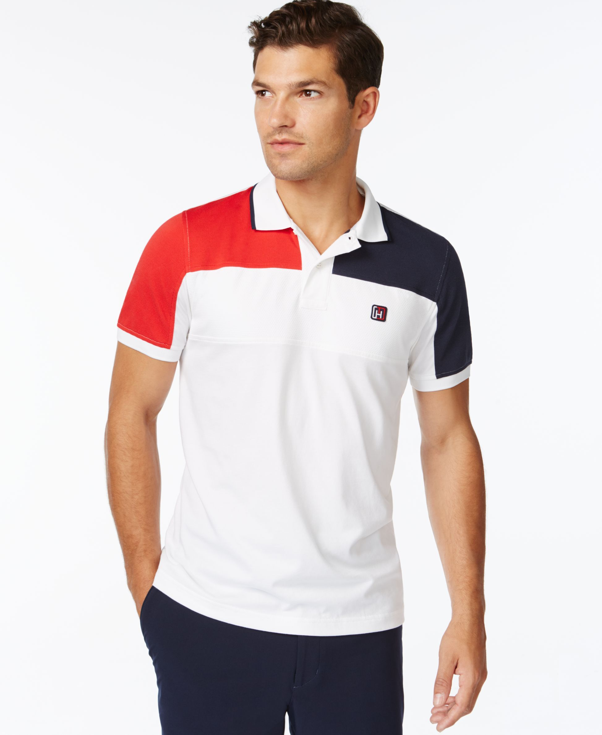 0c670481 Tommy Hilfiger Upton Athletic Polo Shirt | clothing服装 in 2019 ...