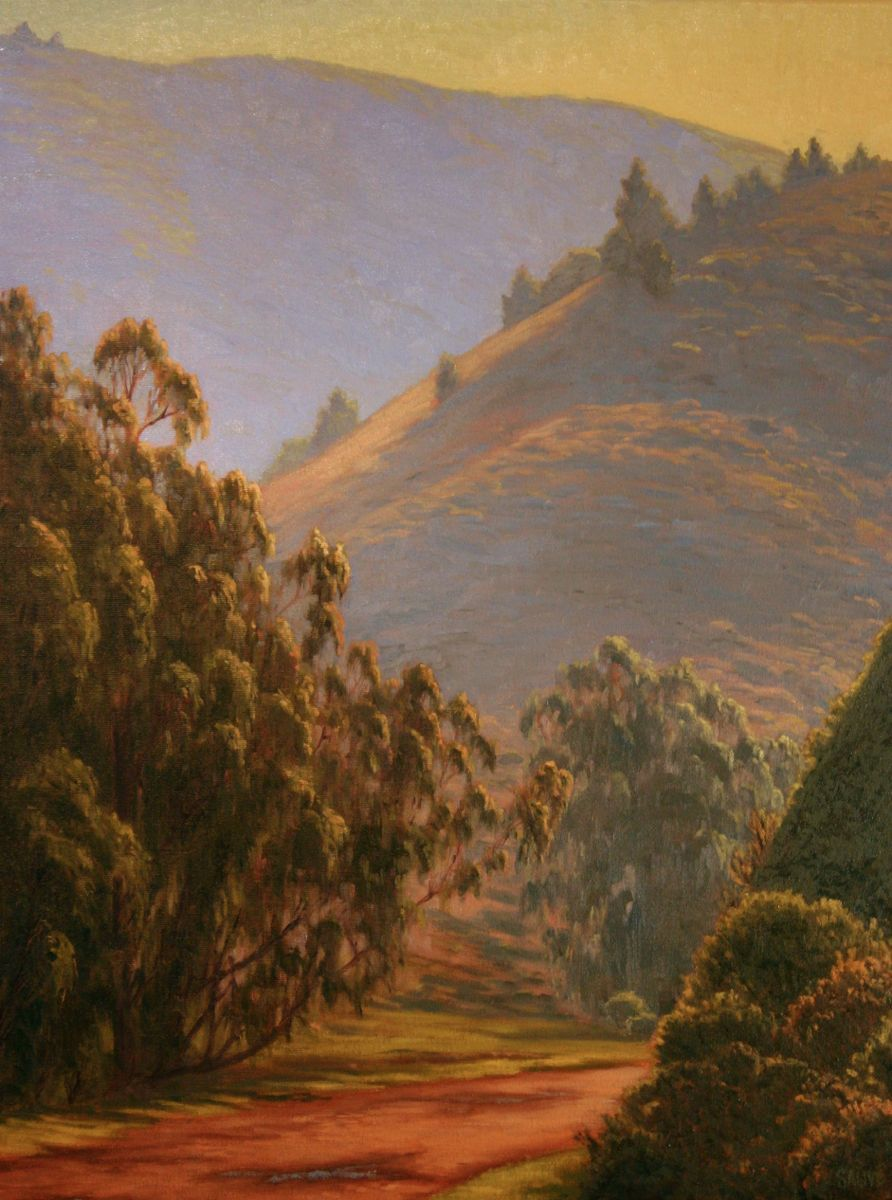 Northern California Landscape Paintings Terry Sauve Fine Art Landscape Paintings California Landscape Western Landscape