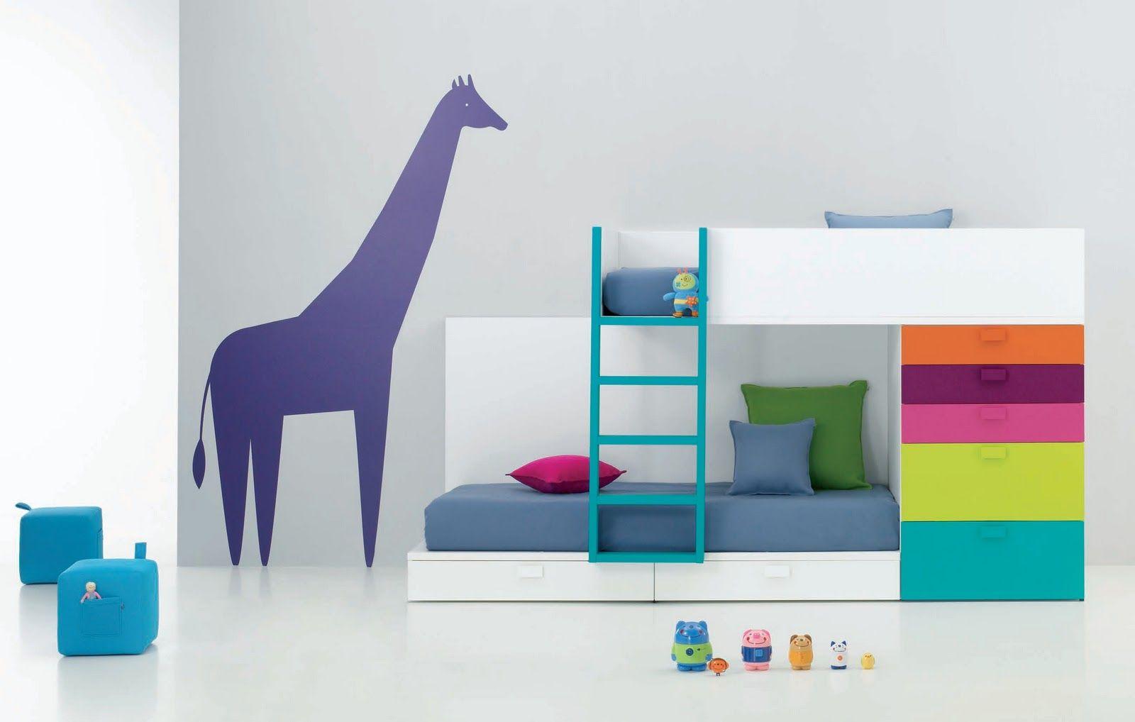 Dormitorios infantiles para ni os ni as de 0 1 2 3 4 5 for Habitaciones infantiles nina 3 anos