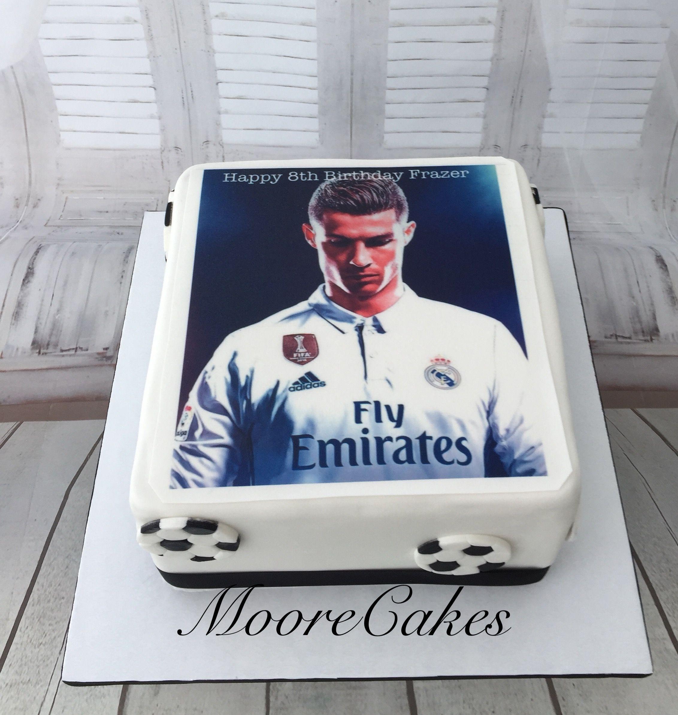 Ronaldo Cake Soccer Birthday Cakes Iron Man Birthday
