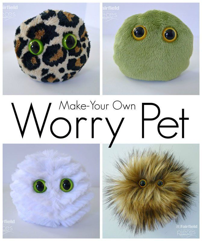 Photo of Worry Pets – Sensory Buddies for Anxiety – Fairfield World Craft Projects