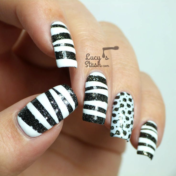 Pin By Dorita Rico On Nails Nails Pinterest Monochrome Stylish