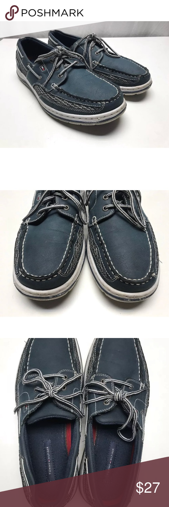 a64460e4e01b5 Mens Tommy Hilfiger Bedford Boat Shoes Loafers 12 Mens Tommy Hilfiger  Bedford Boat Shoes Loafers 12. Nice condition see pics and judge for  yourself!
