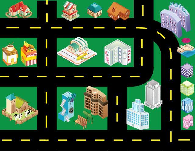 Printable Toy Car Road Map Between SistersBetween Sisters - Kids road map
