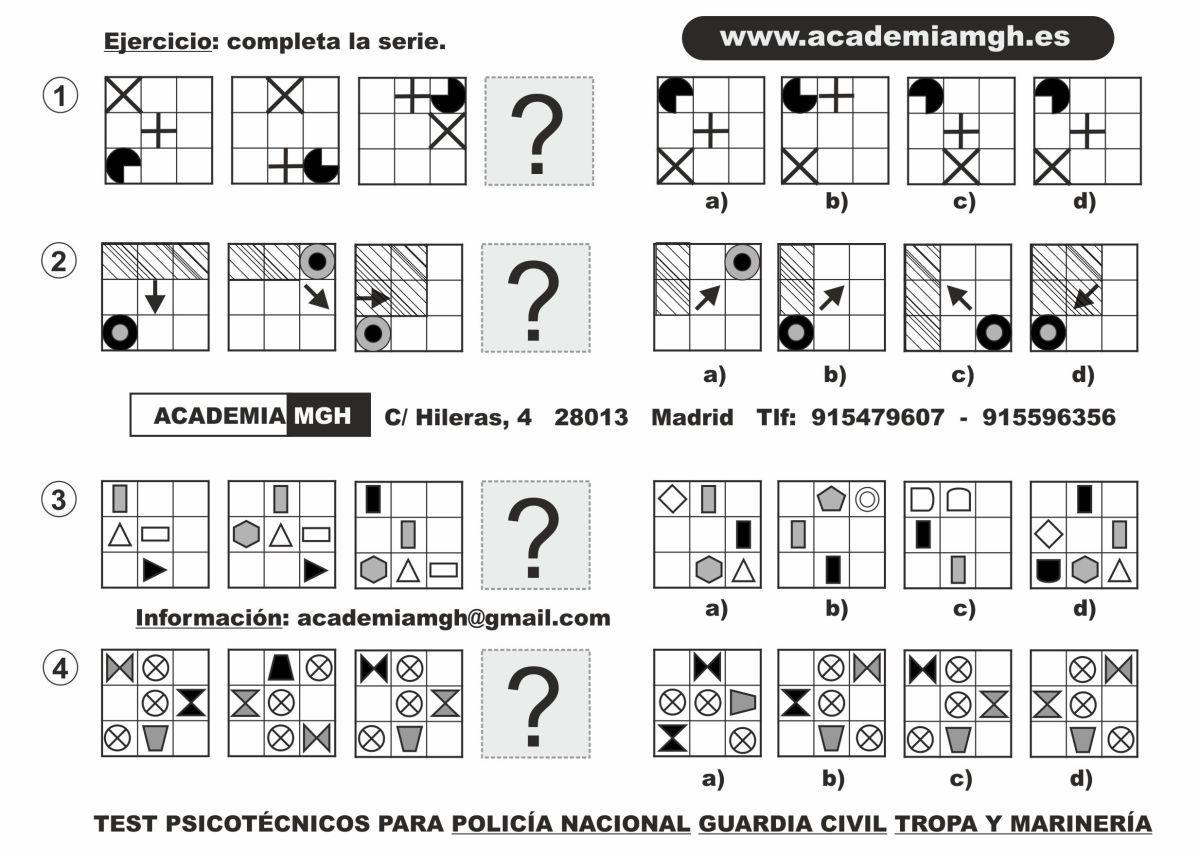 Psicotecnicos Policia Nacional