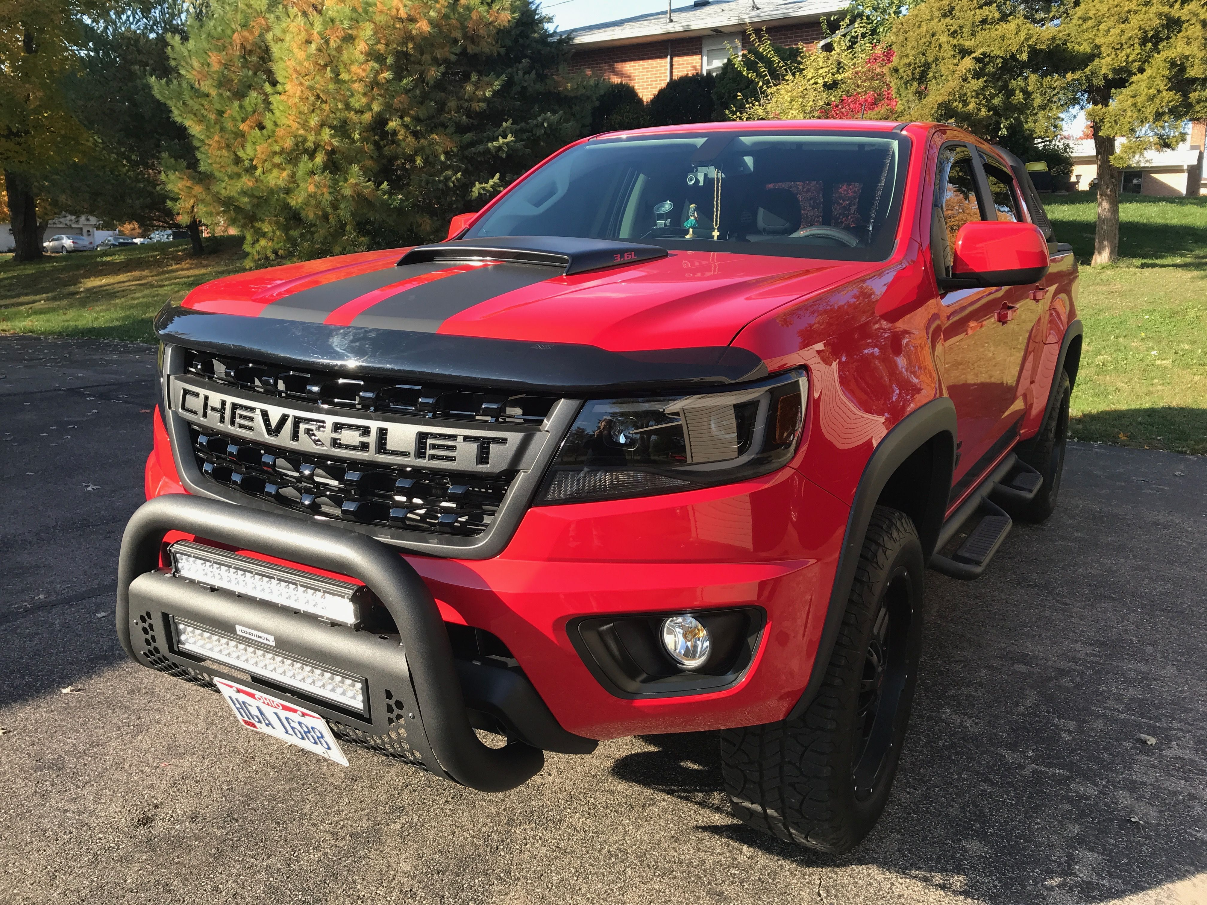 2017 Colorado Z71 Upgraded Front End Chevrolet Colorado Chevy