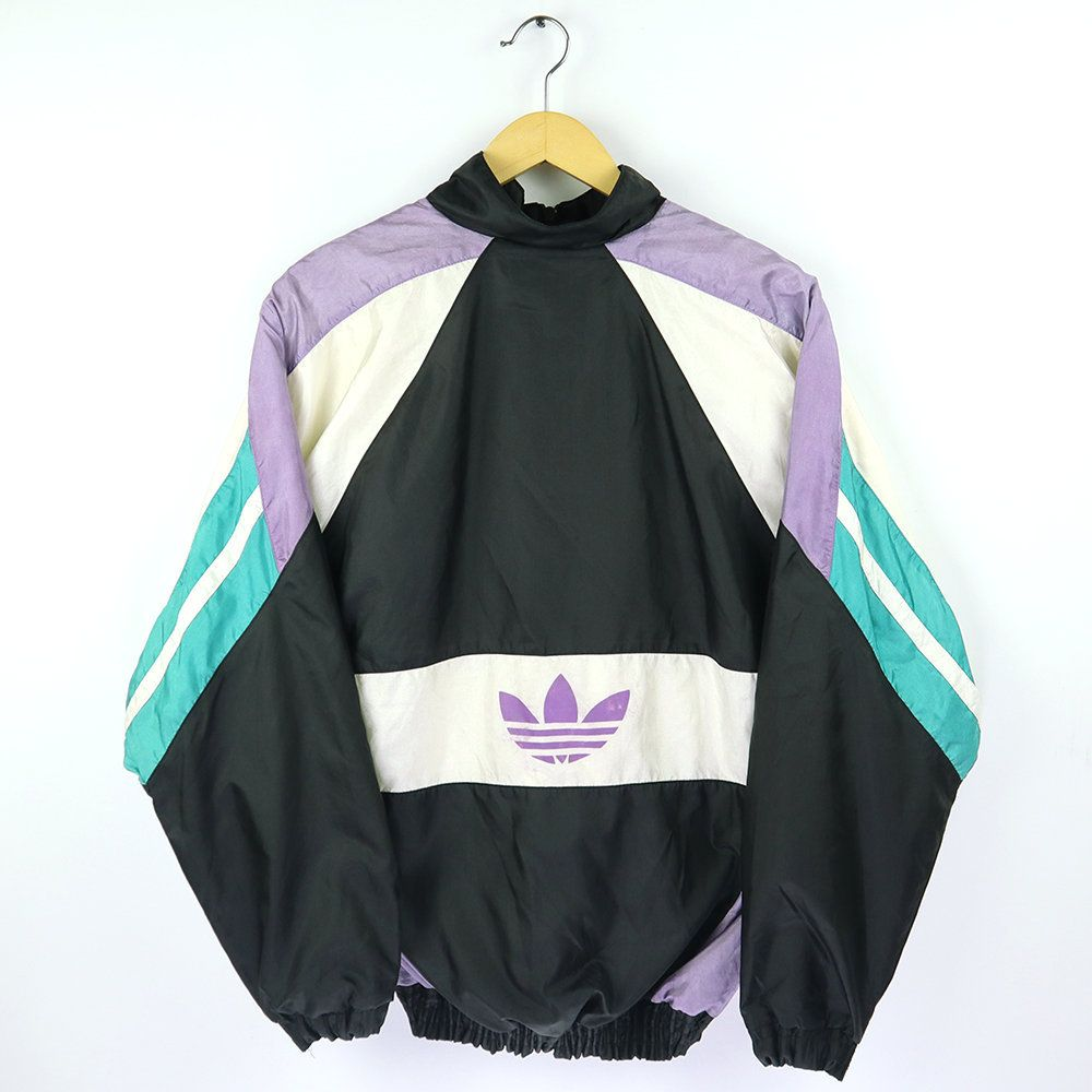 ADIDAS Vintage 80s 90s ADIDAS TEAM Shell Spray Jacket