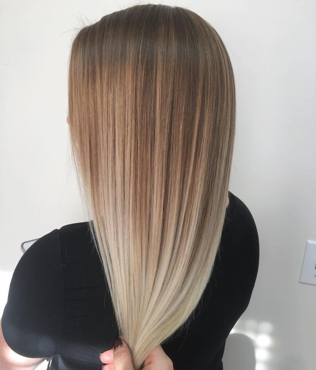 10 Chic Balayage Blonde Straight Hair Short Straight Hair Straight Blonde Hair Straight Hairstyles