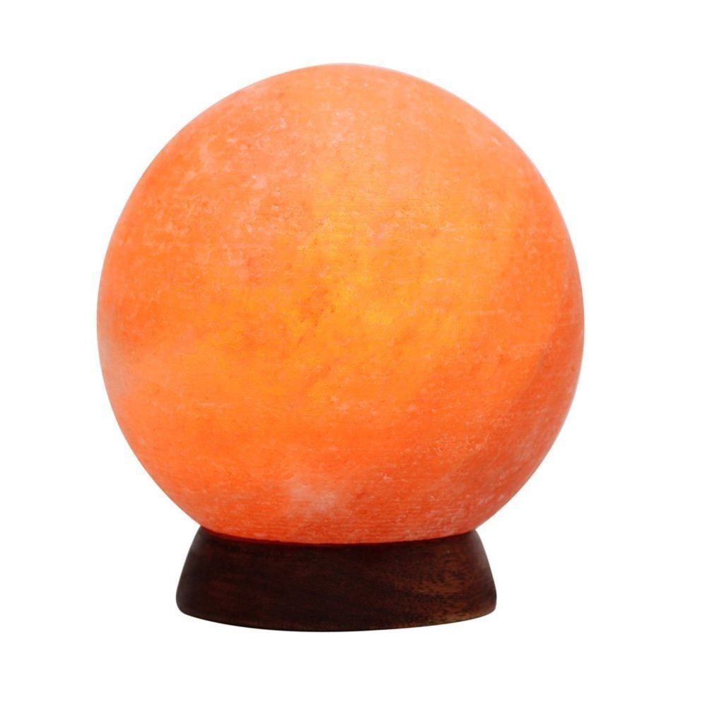 Where To Buy Himalayan Salt Lamp Prepossessing Himalayan Salt Lamp Globe Hand Carved Crystal Rock Bedroom Light